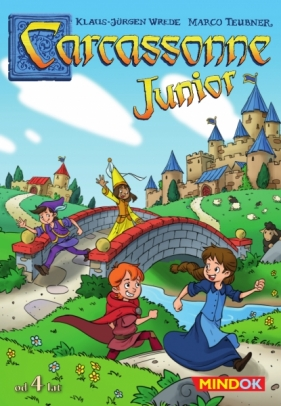 Carcassonne Junior Wiek: 4+