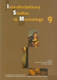 Interdisciplinary Studies in Musicology 9