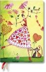 Kalendarz książkowy midi 2018 12M hor. Valentina