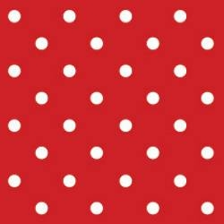 Serwetki SDS066023 Dots Red