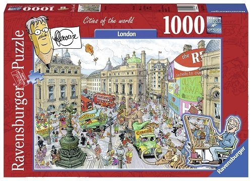 Puzzle 1000 Londyn
