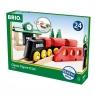 Brio World: Kolejka drewniana z torami - podstawowa (63302800)Wiek: 2+