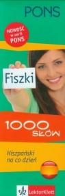Pons Fiszki 1000 słów Hiszpański na co dzień