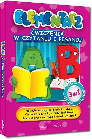 Ćwiczenia w czytaniu i pisaniu - Elementarz Marta Kurdziel