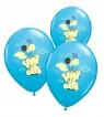 Balony słoniki błękitne B85/27cm. OP=5SZT.0174-003