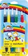 Farby w pędzelku Fiorello 5 kolorów