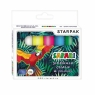 Starpak, kreda chodnikowa Safari, 6 kolorów (222584)