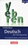 Lextra Verblexikon Deutsch als Fremdsprache mit Konjugationstabellen und Beispielsätzen