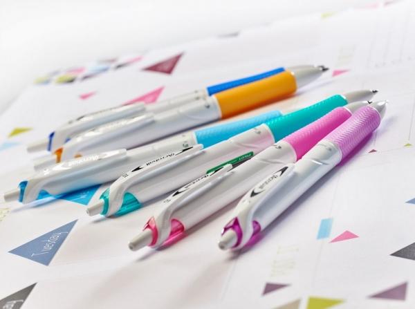Długopis olejowy Pilot Acroball Pure White Begreen fioletowy (BAB-15M-WPUV-BG)