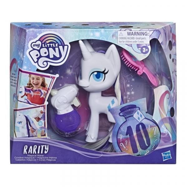 Figurka My Little Pony Rarity z magicznymi włosami (E9104)
