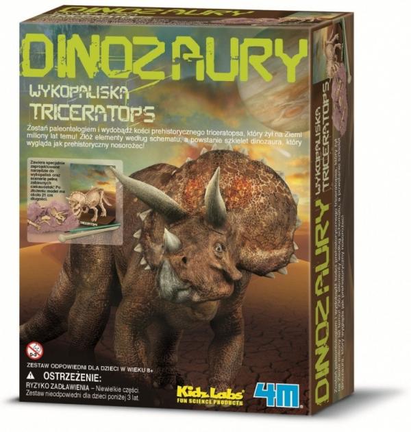 Zestaw naukowy Wykopaliska - Triceratops (3228)