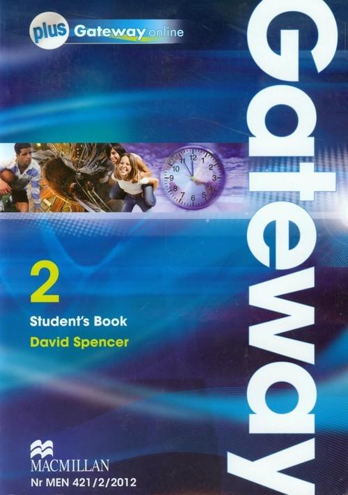Gateway 2 Student's Book + dostęp do Gateway online Spencer David