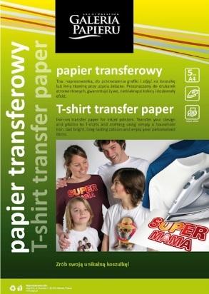 Naprasowywanka Argo na jasne koszulki (260505)