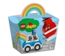 Lego Duplo: Helikopter strażacki i radiowóz (10957) Wiek: 18m+