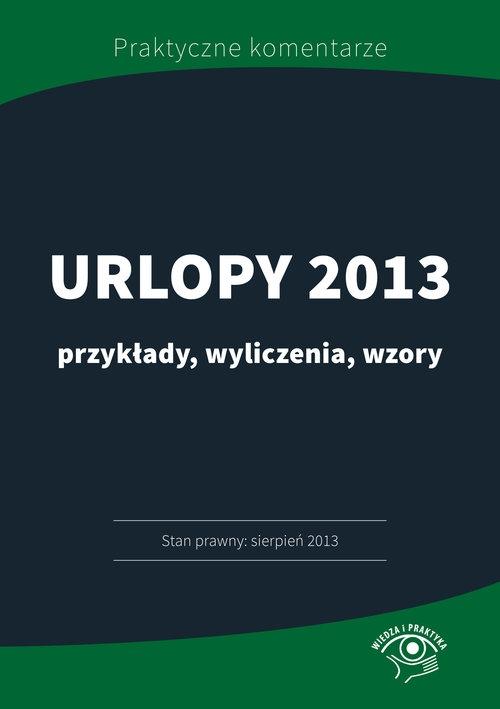 Urlopy 2013