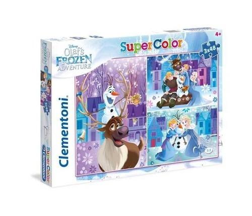 Puzzle SuperColor  Olaf's Frozen Adventure 3x48 (25228)