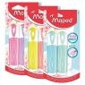 Zakreślacz Fluo pastel 2 kolory MIX MAPED