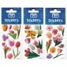 Naklejki Sticker BOO silver tulipan