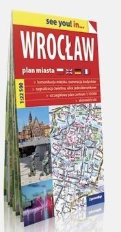 See you! in... Wrocław 1:22 500 plan miasta w.2018 praca zbiorowa