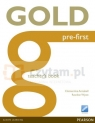 GOLD Pre- First Teacher's Book Clementine Annabell, Rawdon Wyatt