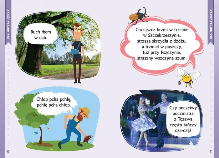 Wierszyki na gibkie języki. Gimnastyka mistrza języka