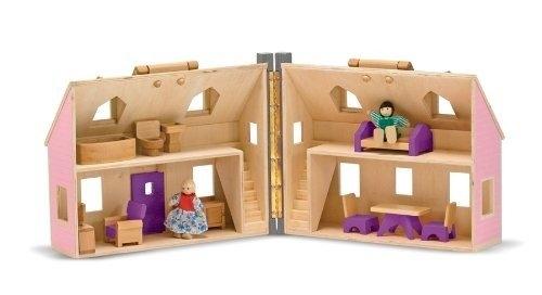Domek dla lalek - walizeczka (MD13701)