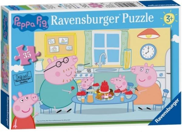 Puzzle 35 elementów Świnka Peppa Deser (08628)