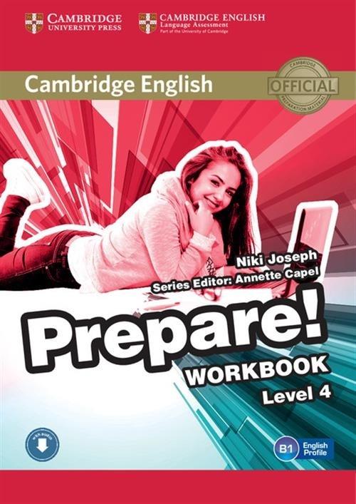 Prepare! 4 Workbook with Audio Joseph Niki