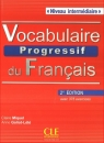 Vocabulaire progressif du français Niveau intermédiaire Książka + CD 2. Miquel Claire, Goliot-Lete Anne