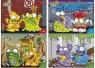 Wkłady do segregatora A6 Trash Pack 8 kartek z kolorowankami i naklejkami seria 101