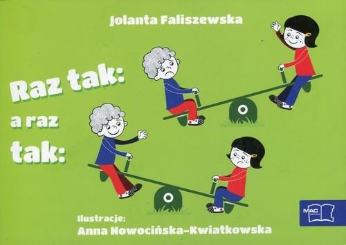 Odkrywam czytanie 1 Część 5 Raz tak a raz tak Faliszewska Jolanta