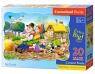 Puzzle maxi konturowe: Big Turnip 20 elementów (02283)