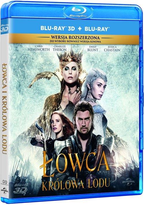 Łowca i Królowa Lodu 2D+3D 2Blu Ray Cedric Nicolas-Troyan