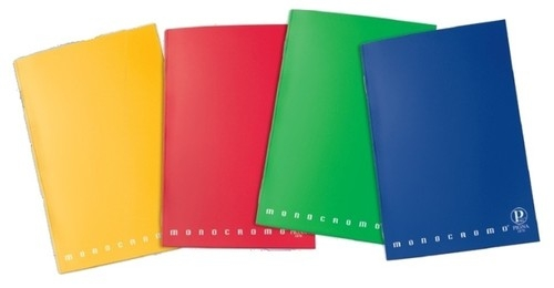 Zeszyt A6 Pigna Monocromo w kratkę 42 kartki mix kolorów