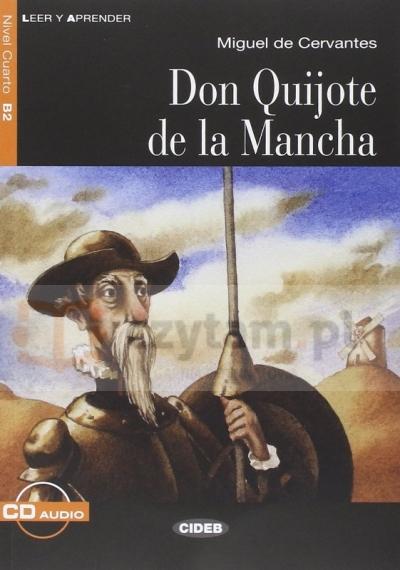 LH Don Quijote de la Mancha książka + CD B2