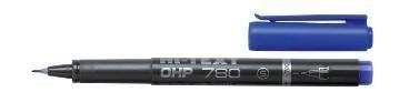 Permanent 780/OHP CD niebieski (12szt) HI-TEXT
