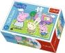 Puzzle mini 54: Wesoły dzień Świnki Peppy 4 TREFL