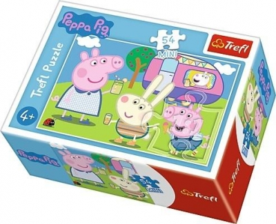 Puzzle mini 54: Wesoły dzień Świnki Peppy 4