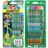 Ołówek z gumką 10 szt. Flamingo (HB)