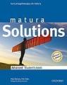 Matura Solutions Advanced LO Podręcznik. Język angielski Tim Falla, Paul A Davies