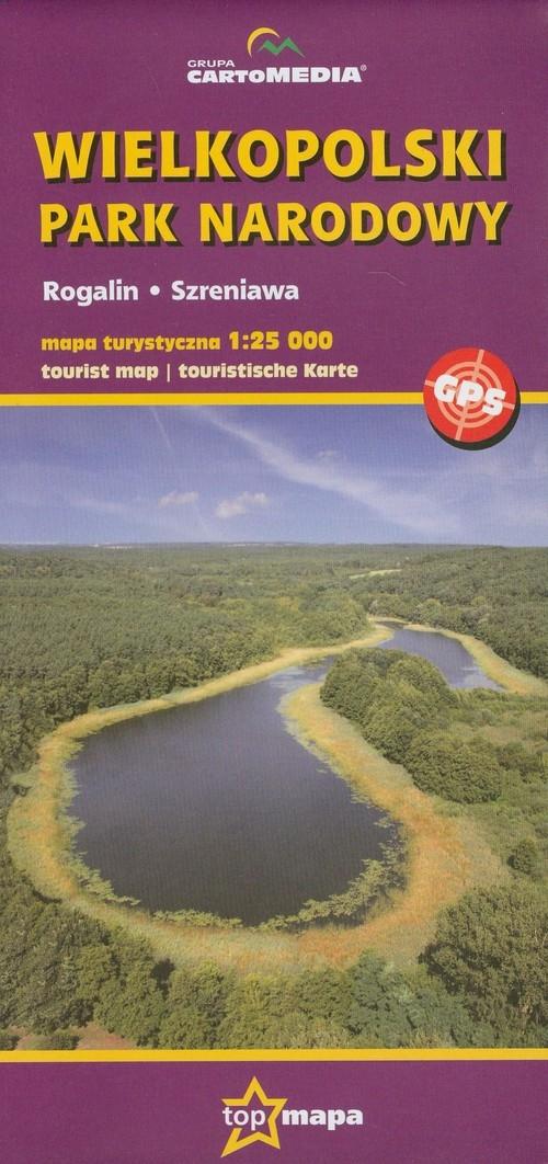 Wielkopolski Park Narodowy mapa turystyczna 1: 25 000