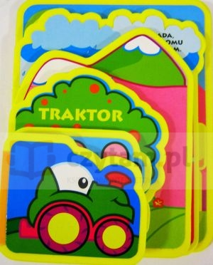 Traktor Santiago Roldan (ilustr.), Anna Wróblewska-Kowalczyk (tłum.)