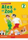 Alex et Zoe plus 2, podręcznik + CD MP3 Samson Colette