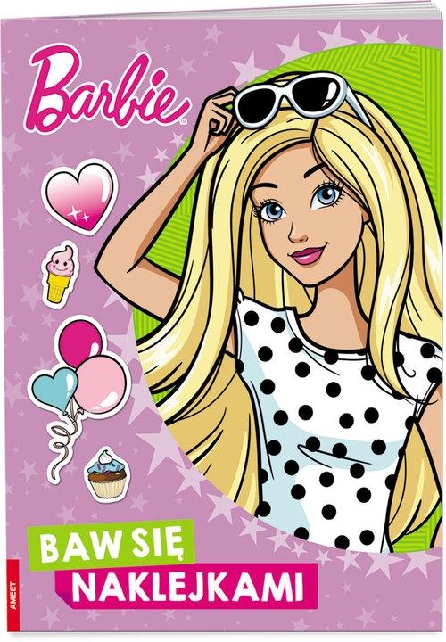 Barbie Baw się naklejkami