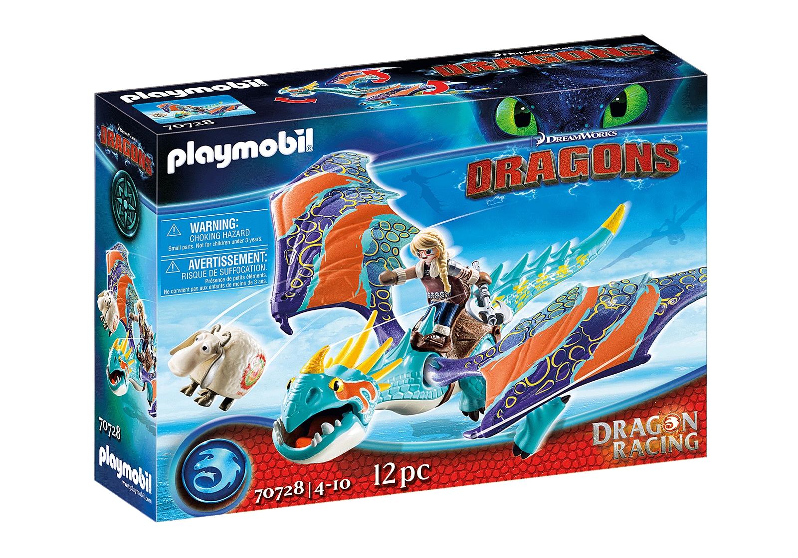 Playmobil Dragon Racing: Astrid i Wichura