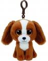 Ty Beanie Boos Tala - Brązowy Pies - Brelok
