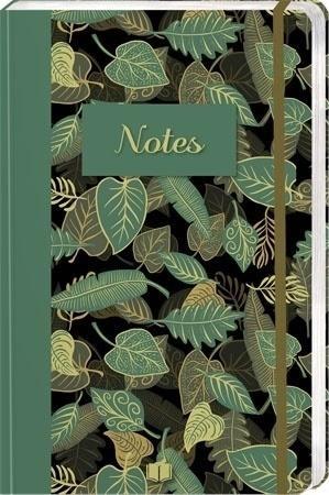Notes B6/160K Zielone liście