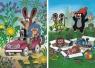 Puzzle 2x48 Krecik i przyjaciele DINO