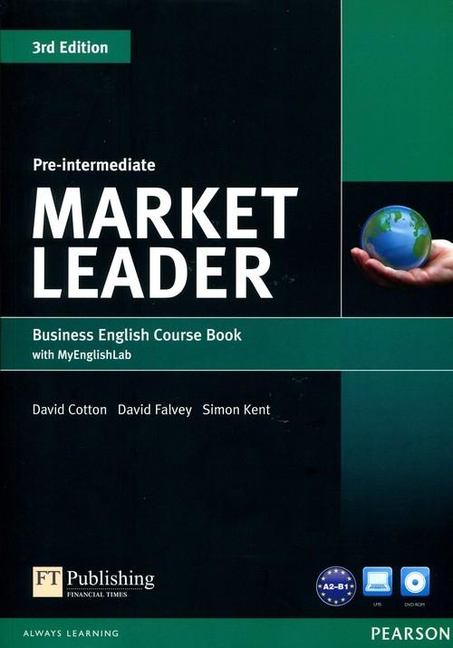 Market Leader 3Ed Pre-Intermed SB +DVD +MyEngL Cotton David, Falvey David, Kent Simon