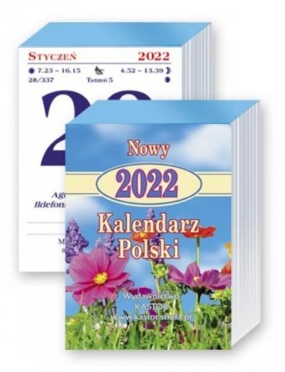 Kalendarz 2022 Nowy Kalendarz Polski KASTOR